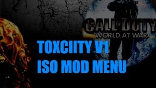 Call Of Duty Waw Toxiicity V1 ISO Mod Menu (Im Back)