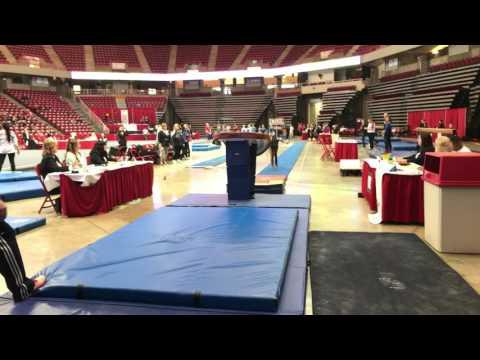 JerQuavia Henderson, Gym Corner L10 Vault   2017 Illinois State