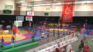 Canada Summer Games - Wrestling finals