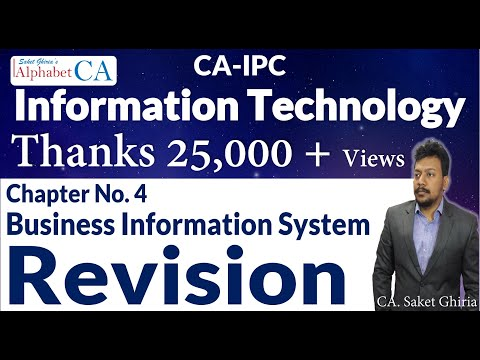 Chapter 4 Information Technology Revision