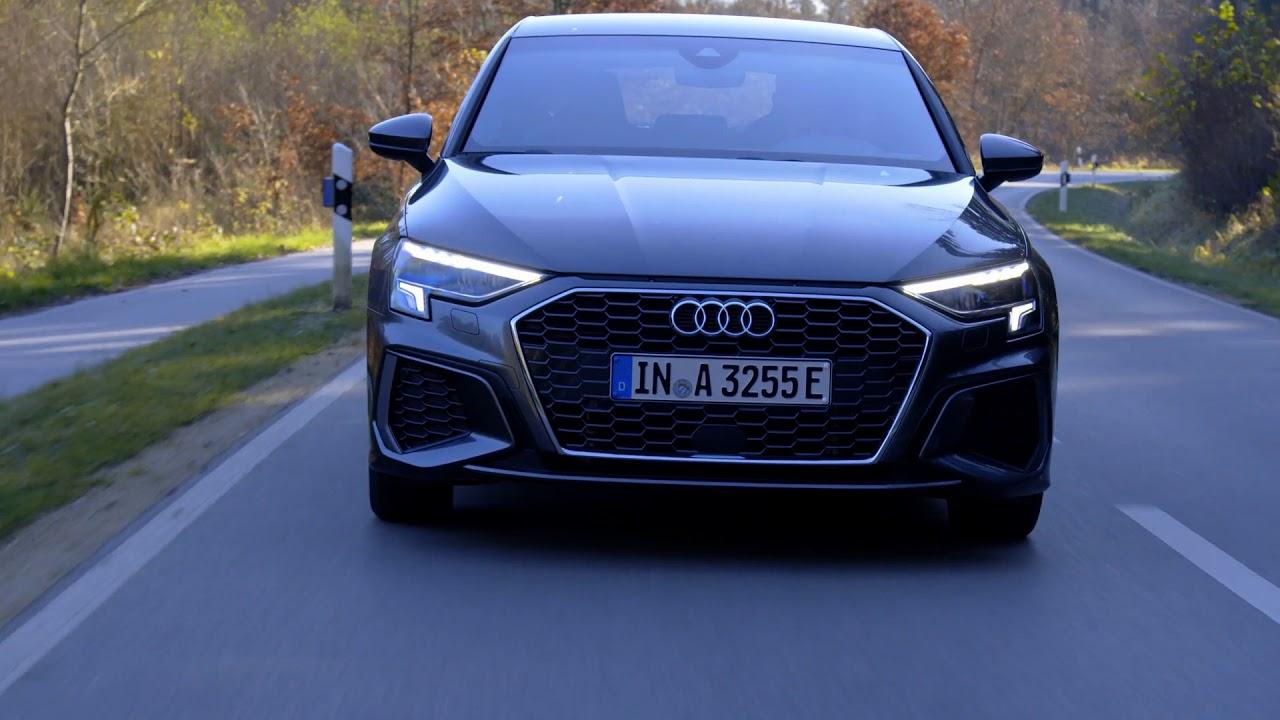 2021 Audi A3 Sportback Lights - YouTube