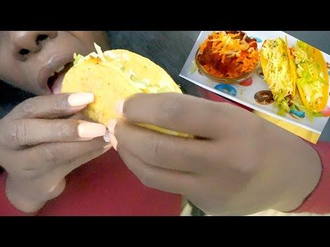 Taco ASMR Eating Sounds/Crunch