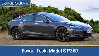 Essai Tesla Model S P85D