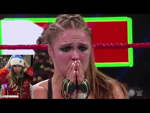 WWE Raw 12/24/18 Ronda vs Nattie