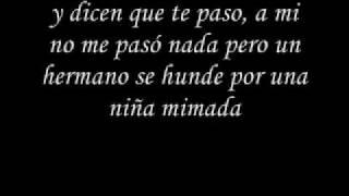 she* una lagrima* (en letras )