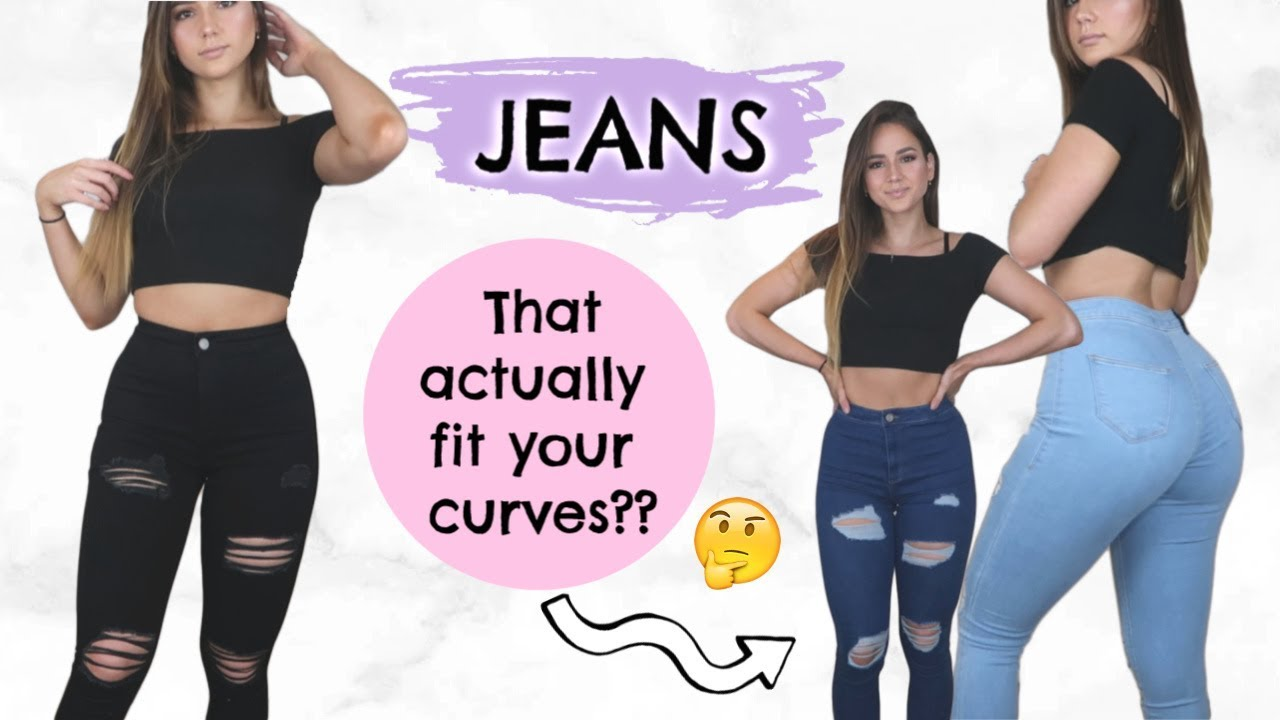 The Best Jeans For Curvy Women? Try-on + Review! |ad
