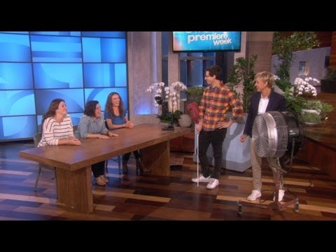 Andy Samberg Gets Interrogative