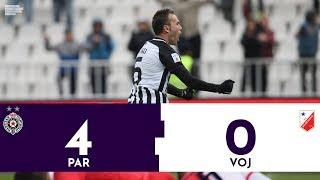 Partizan - Vojvodina 4:0 | Pregled utakmice | Superliga Srbije
