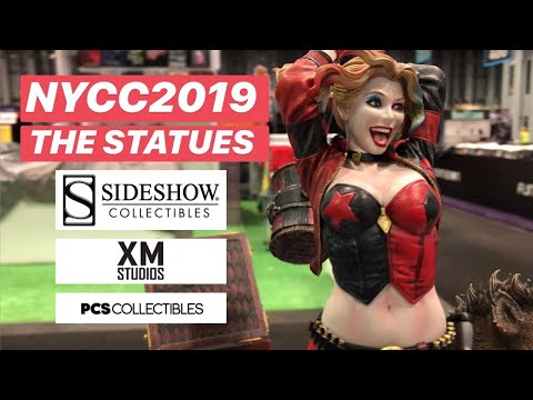 New York Comic Con 2019: The Statues | SIDESHOW COLLECTIBLES | XM STUDIOS | PCS COLLECTIBLES