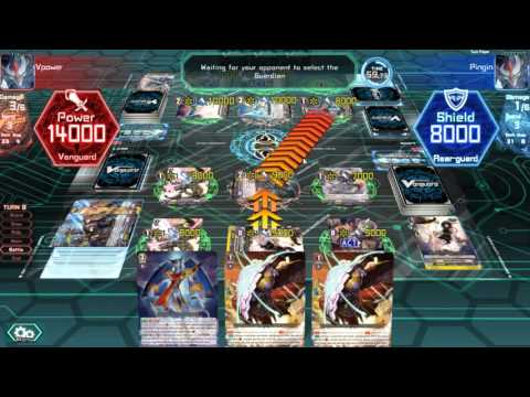 Cardfight Vanguard Online - Gear Chronicles vs Royal Paladin