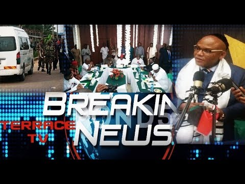 LIVE BROADCAST Mar 9,2019: IPOB leader Nnamdi Kanu - Don't vote for slavery, Do the right thing