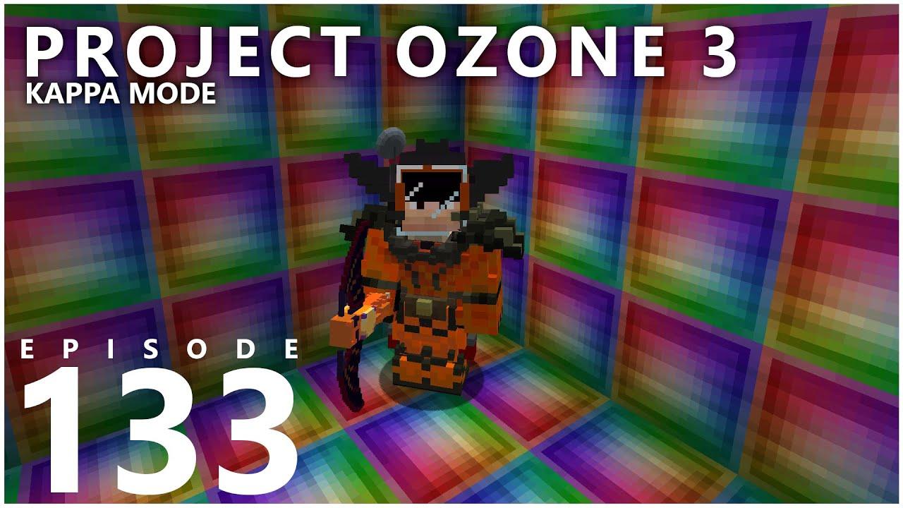 Project Ozone 3 Kappa Mode - INFINITY BLOCKS [E133] (Modded Minecraft Sky Block)
