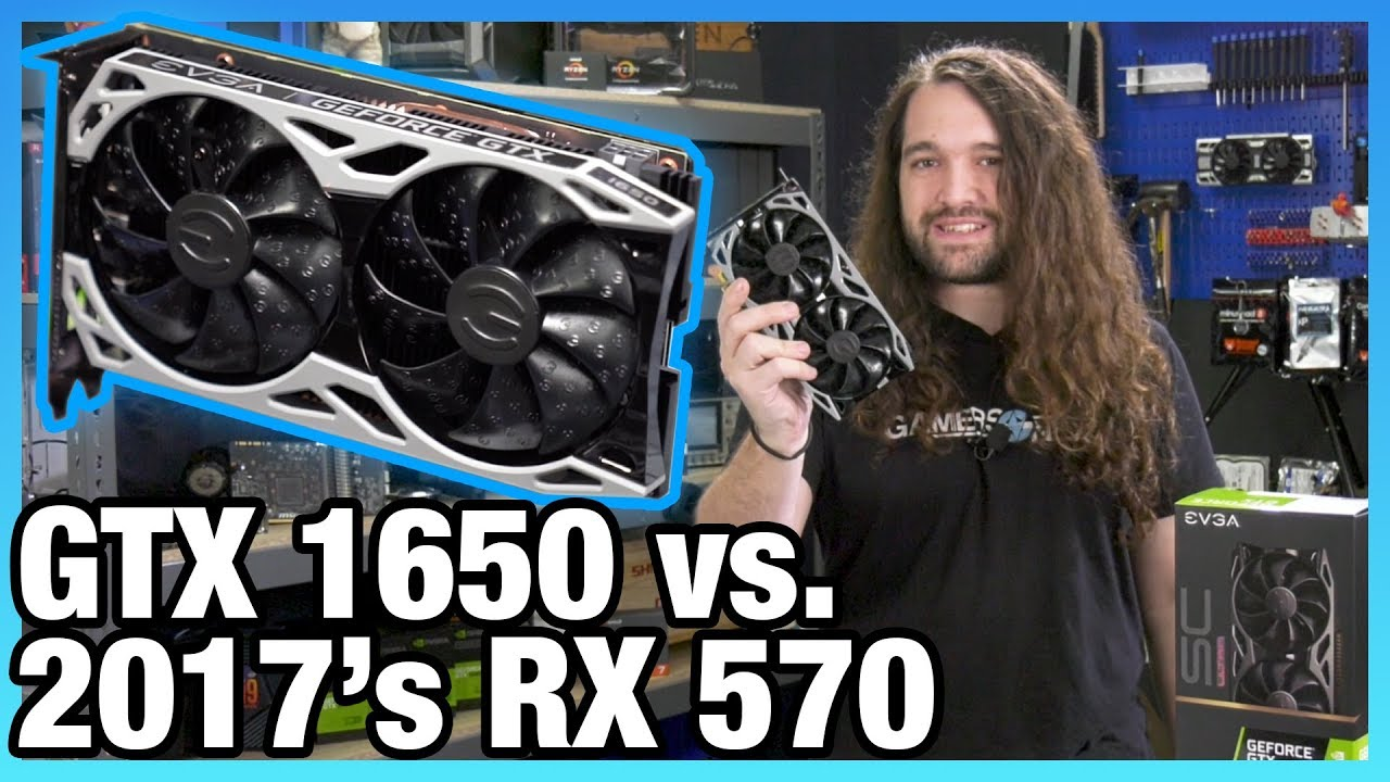 Dead On Arrival: NVIDIA GTX 1650 Review, Benchmarks, & Overclocking vs  RX  570