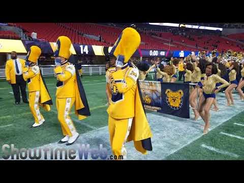 NCAT Marching Out - 2017 Celebration Bowl
