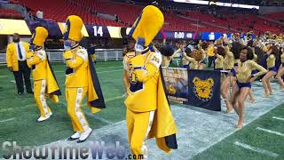 NCAT Marching Out 2017 Celebration Bowl
