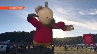 40-й фестиваль воздушных шаров в Бристоле