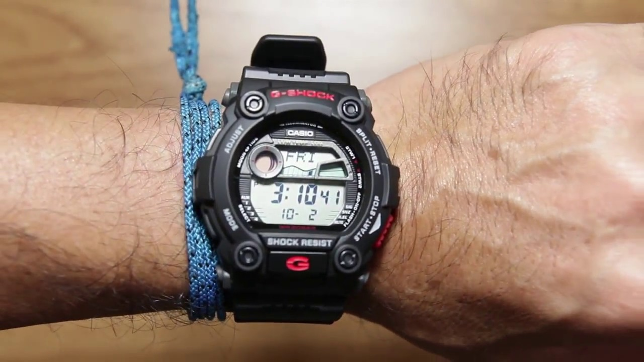 4211aa381bb Casio G-shock G-7900-1   Black   Large face