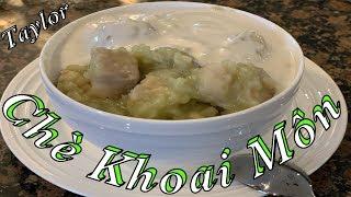 Chè Khoai Môn -  Cách nấu chè khoai môn thơm ngon mềm dẻo ăn là ghiền - Taylor Recipes