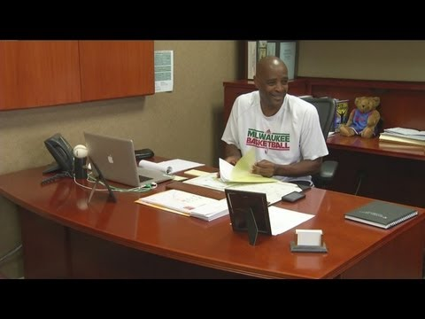 Exclusive interview with new Bucks coach Larry Drew