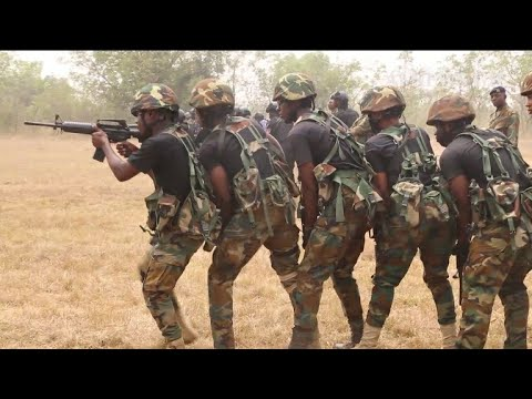 Ghana Armed forces 64 infantry regiment conducted 4-weeks joint Counter terr0ri$m interoperabil.....