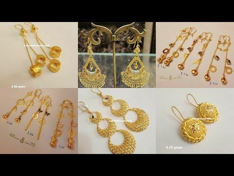 Latest Turkey's Designs Of Gold Earrings