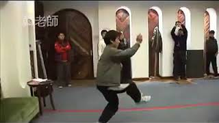 Brothers Han Yanwu and Han Yanming demonstrating traditional Xingyiquan and Baguazhang in consultati