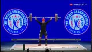 Тяжелая атлетика. Чемпионат Мира 2015 г. Женщины до 69 кг.