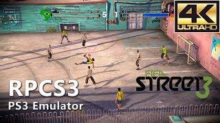 RPCS3 0.0.5-6692 | FIFA Street 3 (4K Gameplay)