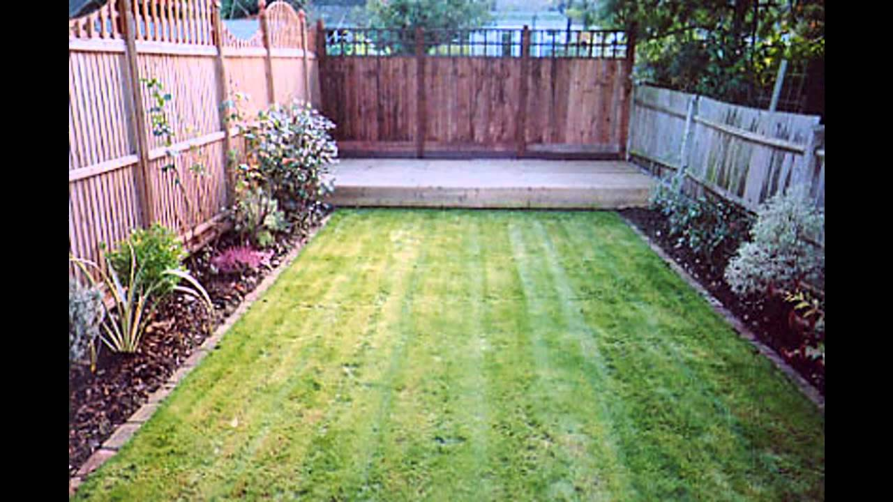 Small garden makeover ideas - YouTube on Small Backyard Landscaping  id=22055