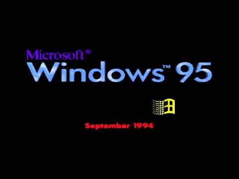 Microsoft windows codename chicago build 189 september for Windows 95 startup sound