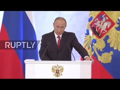 LIVE: Putin delivers annual address to Federal Assembly in Moscow - ORIGINAL
