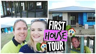 First House Tour || We're Building a House!