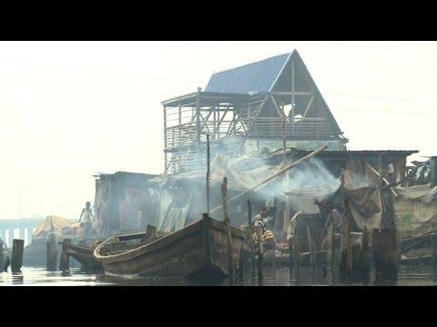 Floating school offers hope to Lagos' water-world slum