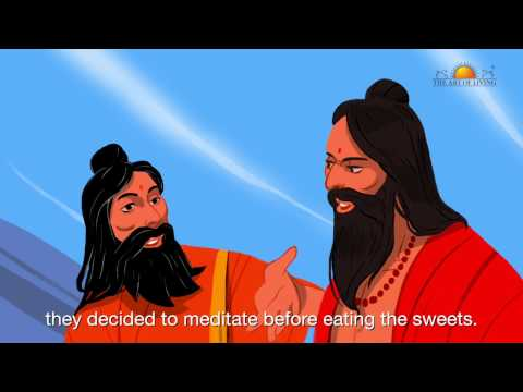 The story of two Sadhus by Gurudev Sri Sri Ravi Shankar (Hindi)