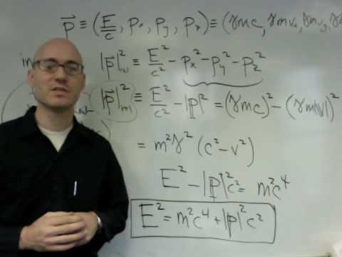 NYU Physics I: Relativistic Mechanics (part 4 of 9)