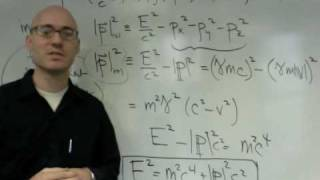NYU Physics I: Relativistic Mechanics (part 4 of 9)