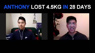 28 Day Lifestyle Transformation Program - Anthony Nguyen's Testimonial
