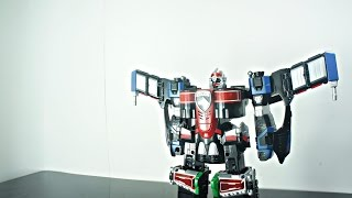 Review DX S.W.A.T. Megazord - DekaWingRobo デカウイングロボ thumbnail