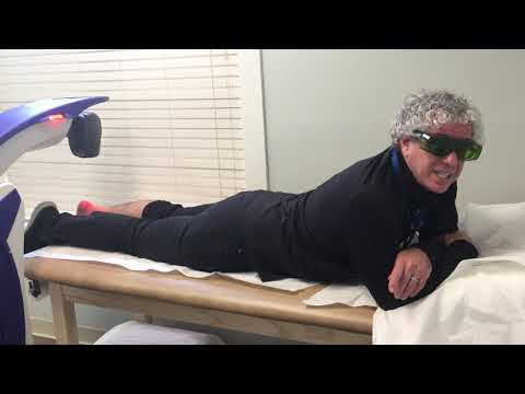Dr. Scott Sigman on cold laser therapy at Ortho Lazer in Chelmsford