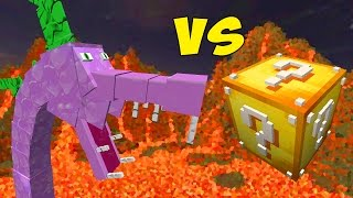 SPIKEZILLA VS. LUCKY BLOCK (MINECRAFT CHALLENGE GAMES)