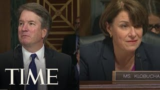 Kavanaugh Apologizes To Sen Klobuchar After Asking If She Had Ever Been Blackout Drunk TIME