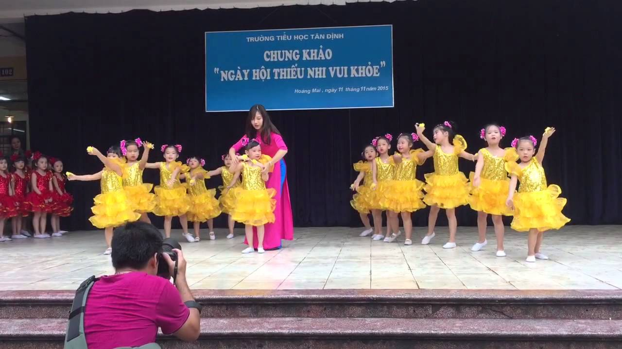 """Múa """"Ngày đầu tiên đi học"""" – TH Tân Định"""
