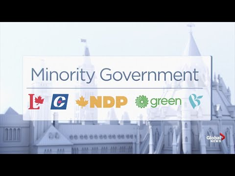 Canada Election: Global News Projects A Minority Government