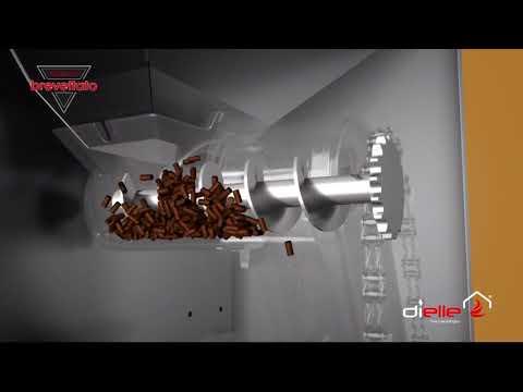 Pelletkachel Bodemvoeder - de werking van Dielle pelletkachels