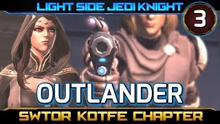 SWTOR Knights of the Fallen Empire ► CHAPTER 3, Outlander - Light Side Jedi Knight (KOTFE)