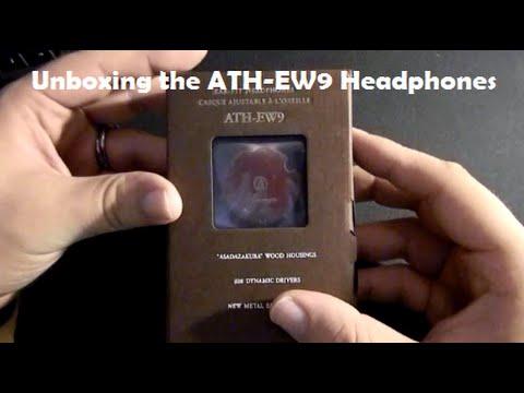 Unboxing The Audio-Technica ATH-EW9 Headphones