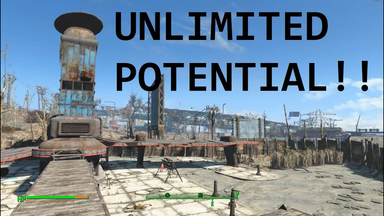 Fallout 4 starlight settlement part 2 for Fallout 4 decorations