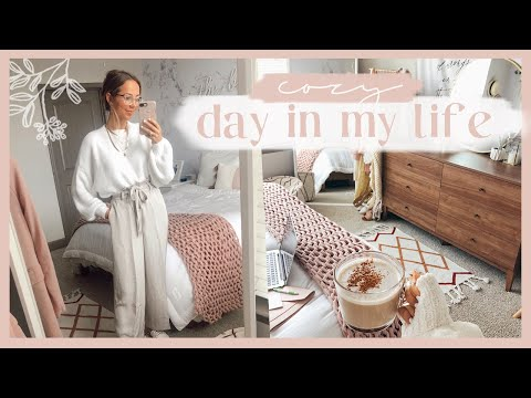 DAY IN THE LIFE | Work from home outfit ideas & productive day! ✨