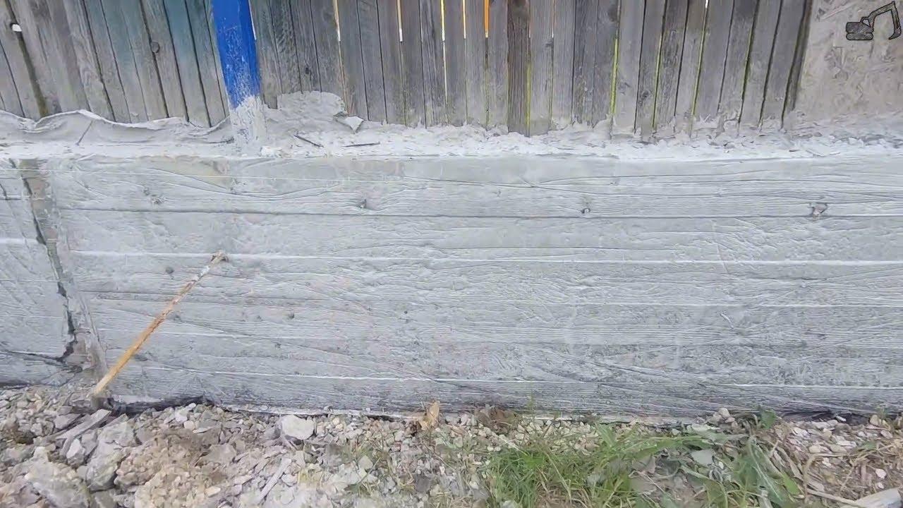 Коротко о косяках и ошибках заливки бетона в опалубку