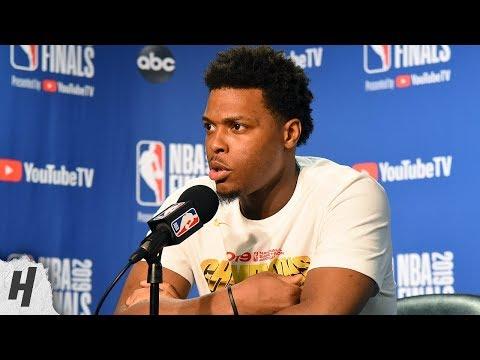 Kyle Lowry Postgame Interview - Game 6   Raptors vs Warriors   2019 NBA Finals